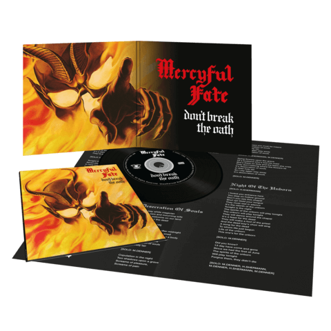 Don't Break The Oath (Vinyl Replica Digi CD) von Mercyful Fate - CD jetzt im Mercyful Fate Shop