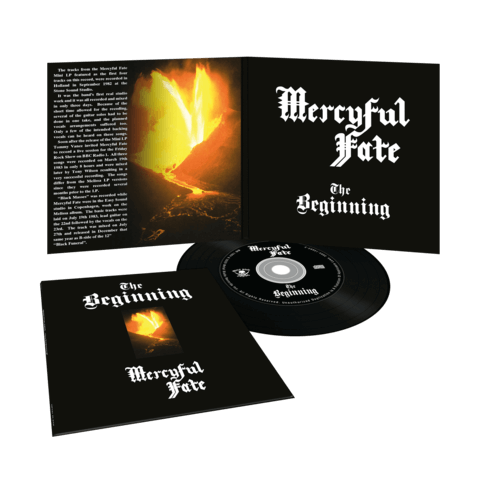 The Beginning (Vinyl Replica Digi CD) von Mercyful Fate - CD jetzt im Mercyful Fate Shop