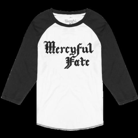 √Black Logo von Mercyful Fate - Raglan long-sleeve jetzt im Mercyful Fate Shop