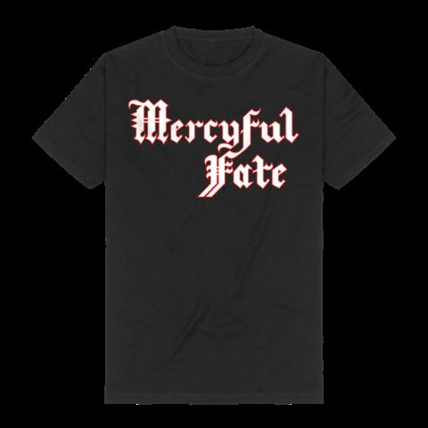 √Red Logo Outline von Mercyful Fate - T-Shirt jetzt im Mercyful Fate Shop
