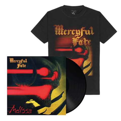 √Melissa (Black Vinyl + Shirt) von Mercyful Fate - Vinyl + T-Shirt Bundle jetzt im Mercyful Fate Shop
