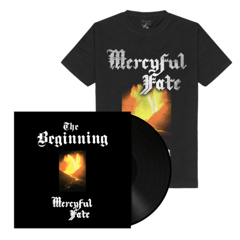 The Beginning (Black Vinyl + Shirt) von Mercyful Fate - Vinyl + T-Shirt Bundle jetzt im Mercyful Fate Shop