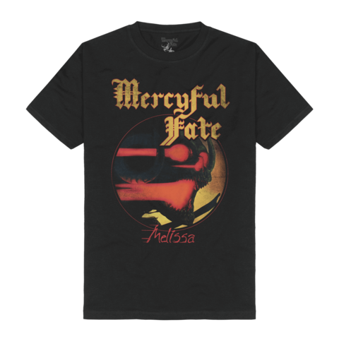 Melissa Tracklist by Mercyful Fate - t-shirt - shop now at Mercyful Fate store
