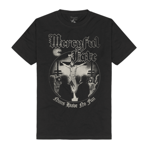Nuns Have No Fun Tracklist by Mercyful Fate - t-shirt - shop now at Mercyful Fate store