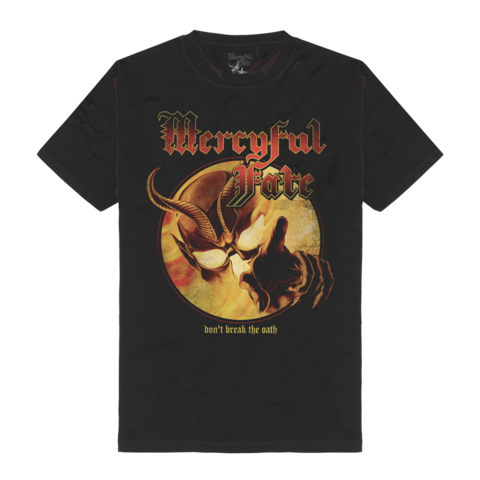 Don't Break The Oath Tracklist by Mercyful Fate - t-shirt - shop now at Mercyful Fate store